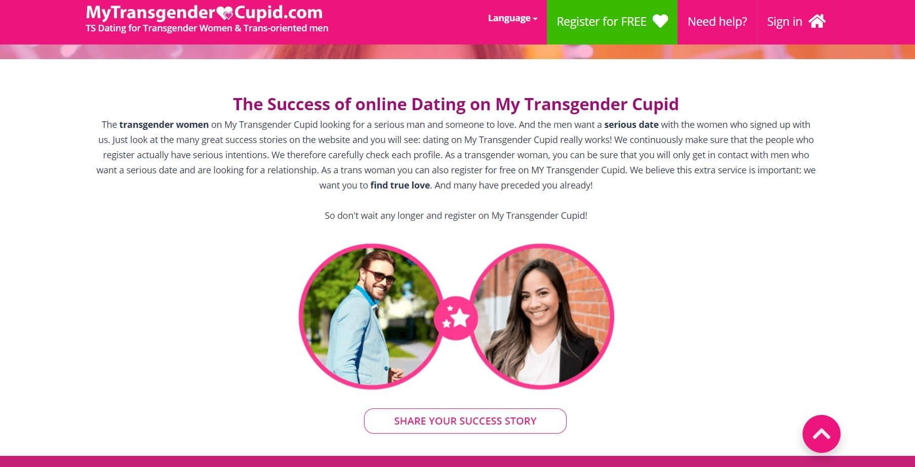 My Transgender Cupid Historia